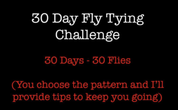 fly tying challenge