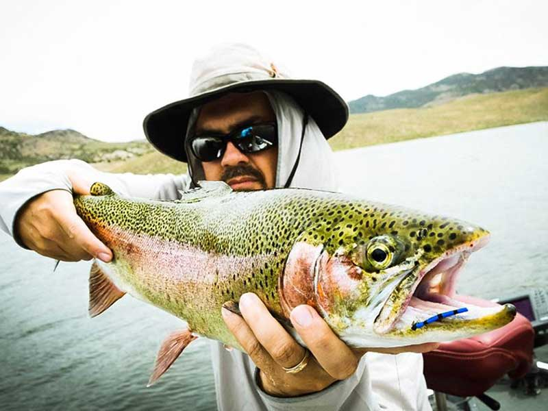 Fly Fish Food with Curtis Fry - Dry Flies - the Lego Fly - Wet Fly Swing