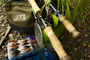 two handed fly rod
