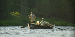 drift boat fishing