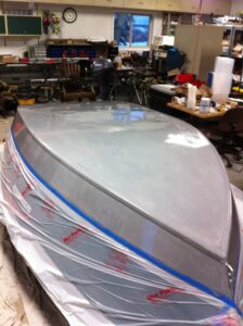 drift boat bottom coating