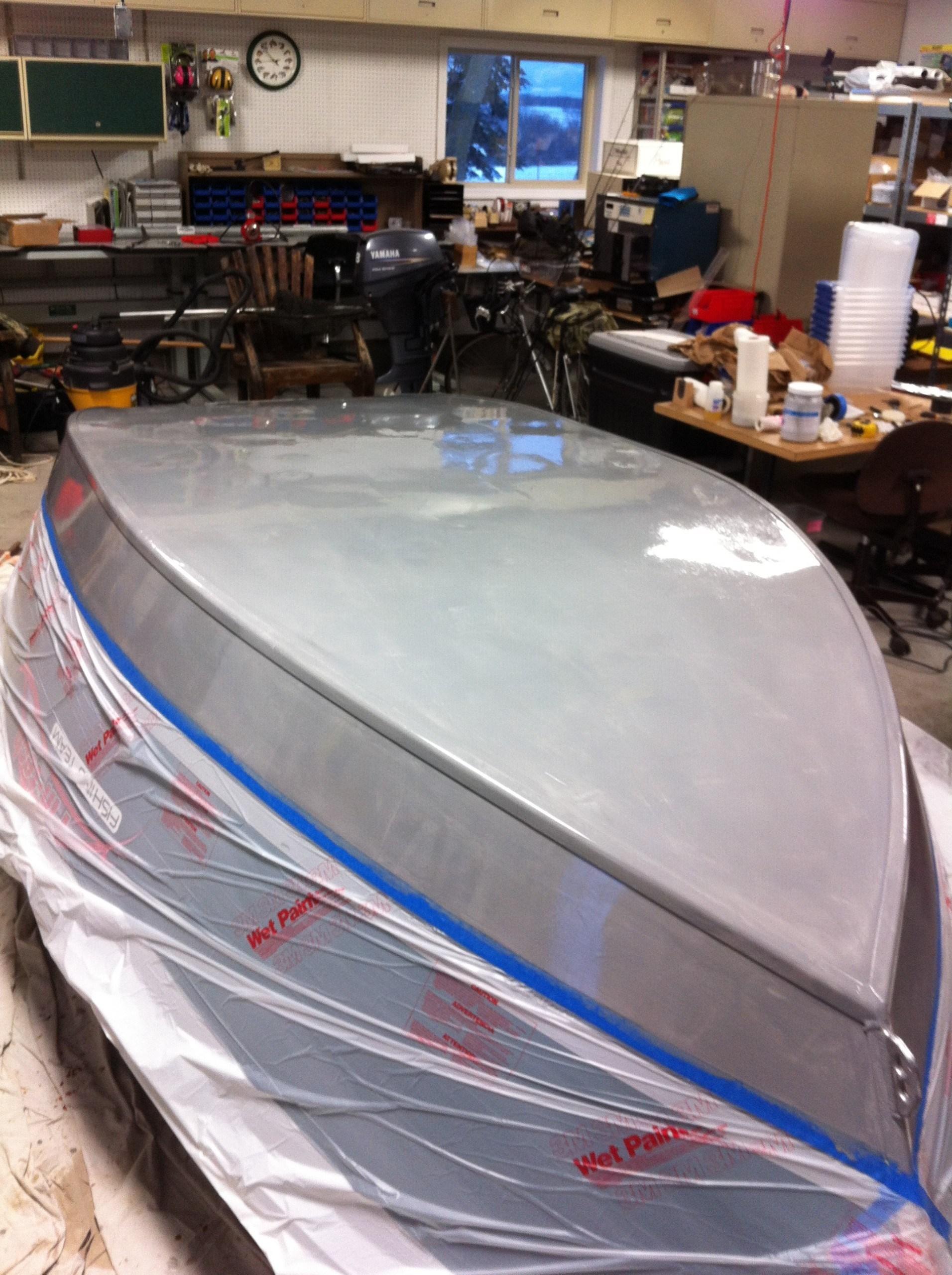 drift boat bottom coating