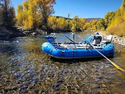 Inflatable Raft for Fishing