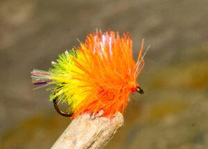 orange blob fly