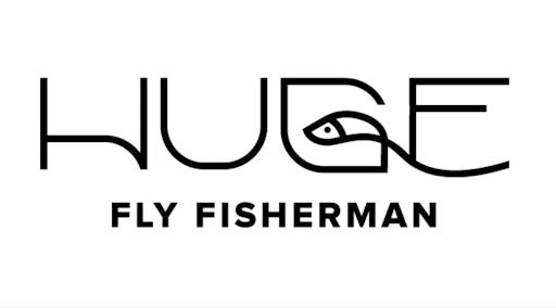 huge fly fisherman